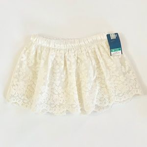 2/$20 🍦 Genuine Kids Ivory Toddler Girl Skirt